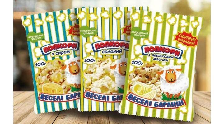 Акции на попкорн