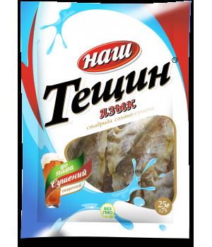 """Тещин язык солено-сушеный ТМ """"Наш"""" (25 г)"""
