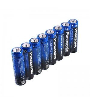 "Батарейка ""PANASONIC"" General Purpose R6 Tray 8 Zink Carbon (палец)"