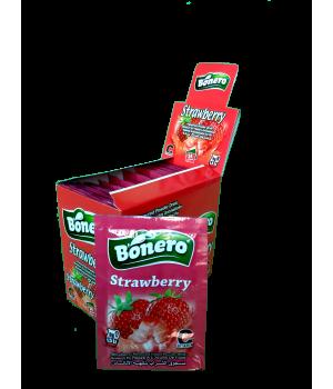 """Растворимый напиток """"Bonero"""" со вкусом клубники"""