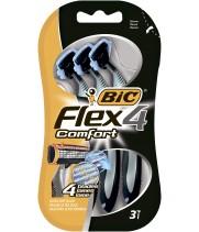 """Бритва """"BIС"""" Flex 4 Comfort (3 шт/уп)"""