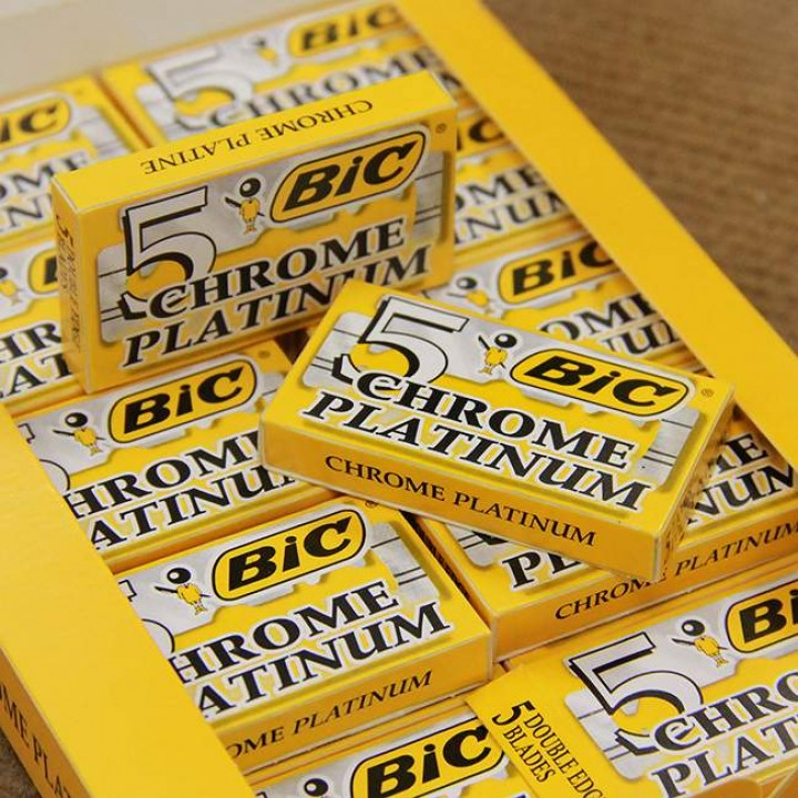 "Лезвия ""BIC"" для станка Chrome Platinum (100 шт)"