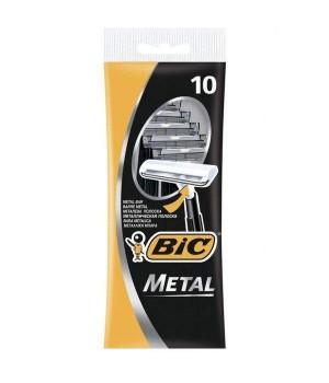 """Бритва """"BIС"""" Metal (10 шт/уп)"""