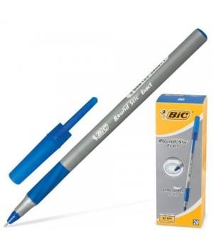 """Ручка """"BIC"""" Round Stic Exact синий (20 шт/уп)"""