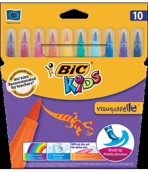 """Фломастеры """"BIC"""" Visaquarelle (10 шт/уп)"""