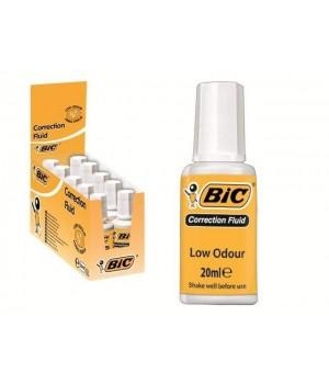 """Корректорная жидкость с щеточкой """"BIC"""" (10 шт/уп)"""