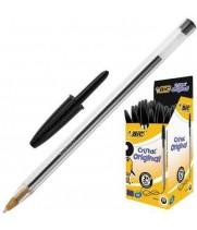 """Ручка """"BIC"""" Cristal черная (50 шт/уп)"""
