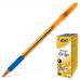"""Ручка """"BIC"""" Orange Grip синий (20 шт/уп)"""
