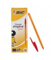 """Ручка """"BIC"""" Orange красная (20 шт/уп)"""