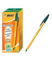 """Ручка """"BIC"""" Orange зеленая (20 шт/уп)"""