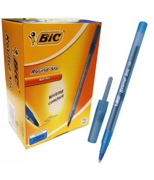 "Ручка ""BIC"" Round Stic синяя (60 шт/уп)"