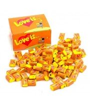 """Жевательная резинка """"Love is..."""" апельсин-ананас (100 шт)"""