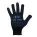 """Перчатки """"Doloni"""" 667 рабочие трикотажные с ПВХ черные 10 класс (10 размер)"""