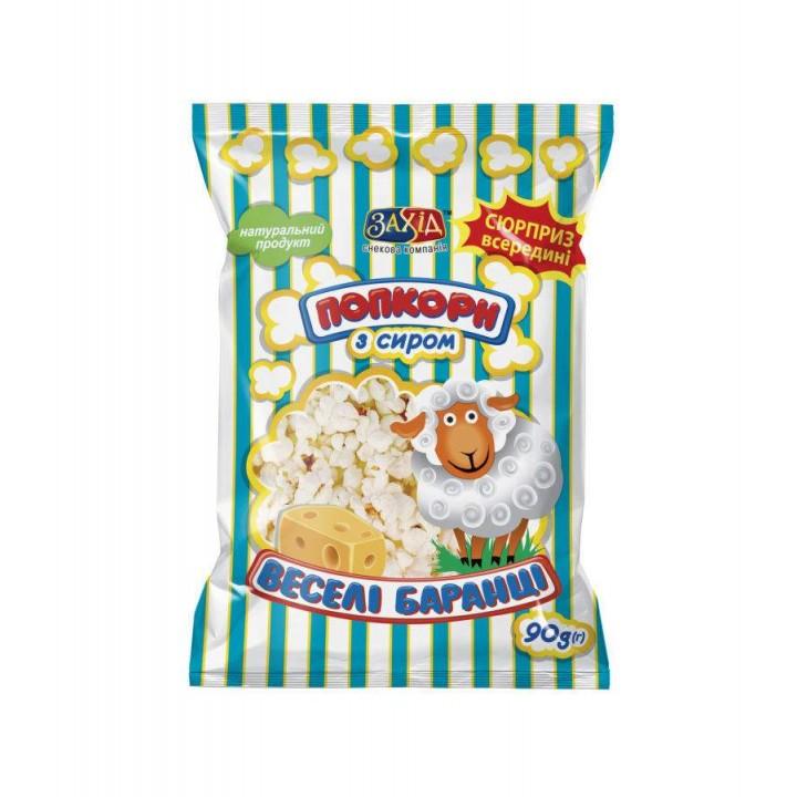 Попкорн с сыром, 90 г