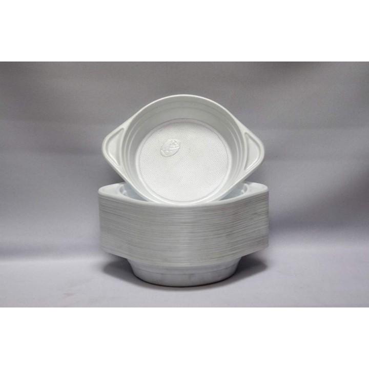 Миска одноразовая 350 мл (100 шт/уп)