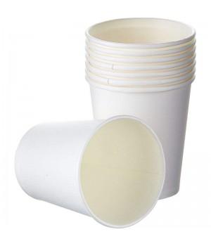 Стакан бумажный белый 110 мл (50 шт/уп)