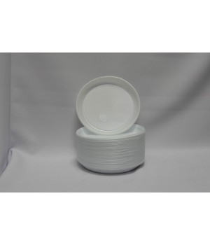 Тарелка одноразовая 205 мм (100 шт/уп)