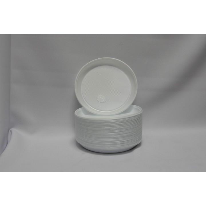 Тарелка одноразовая 170 мм (100 шт/уп)