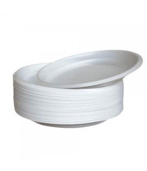 Тарелка одноразовая Эконом 165 мм (100 шт/уп)