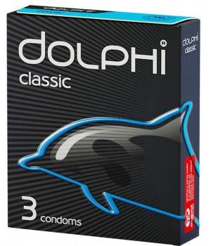 """Презервативы """"Dolphi"""" классические (3 шт)"""