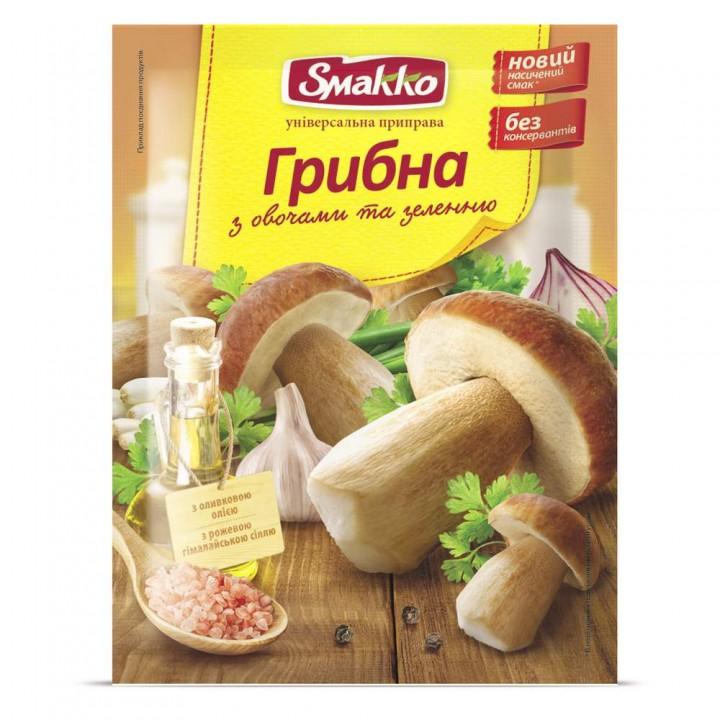 """Smakko """"Грибная с овощами и зеленью"""" (80 г)"""