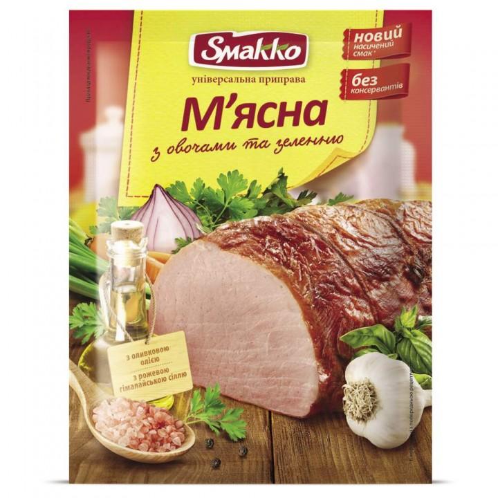 """Smakko """"Мясная с овощами и зеленью"""" (80 г)"""