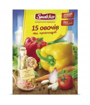 "Smakko ""15 овощей и пряностей"" (70 г)"