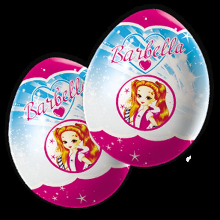 Шоколадное яйцо с сюрпризом Барбелла