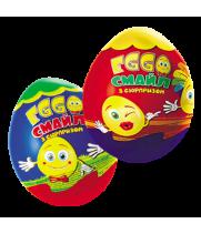 Шоколадное яйцо с сюрпризом Эгго Смайл