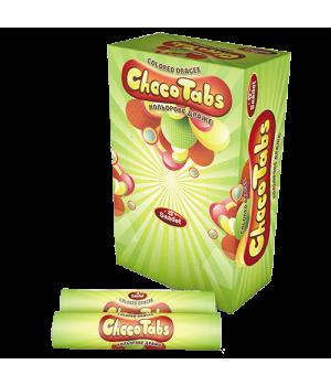 "Драже шоколадное ""Choko Tabc"" тубус (24 шт)"