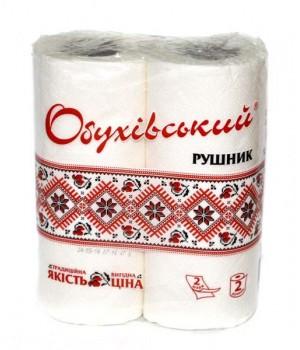 """Полотенце бумажное """"Обуховское"""" (2 шт/уп)"""