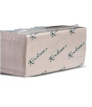 Полотенце бумажное листовое серое Z170