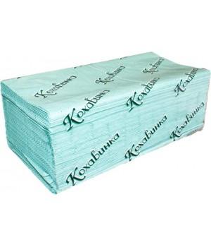 Полотенце бумажное листовое зеленое Z170