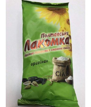 """Семечки """"Полтавская Лакомка"""" солёная (150 г)"""